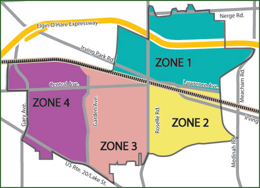 Police Zone Map