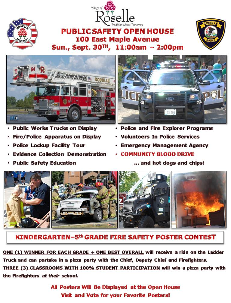 Pub Safety Open House 2018