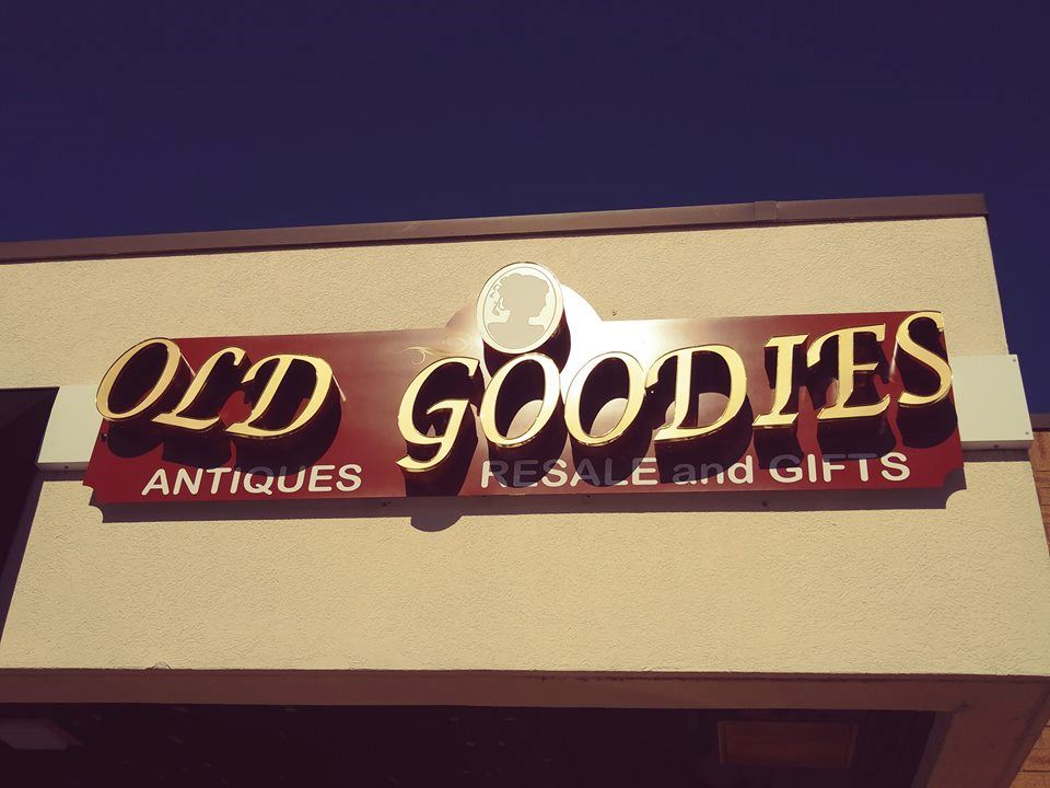 old goodies sign