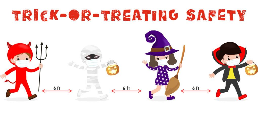 Masked Trick or Treaters