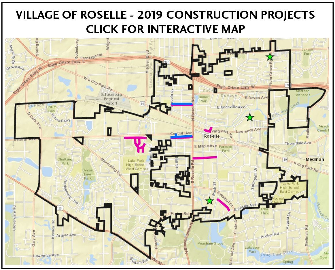 Construction Updates | Roselle, IL - Official Website on chicago construction, illinois interchange construction, illinois bridge construction, illinois highway construction, illinois road construction,