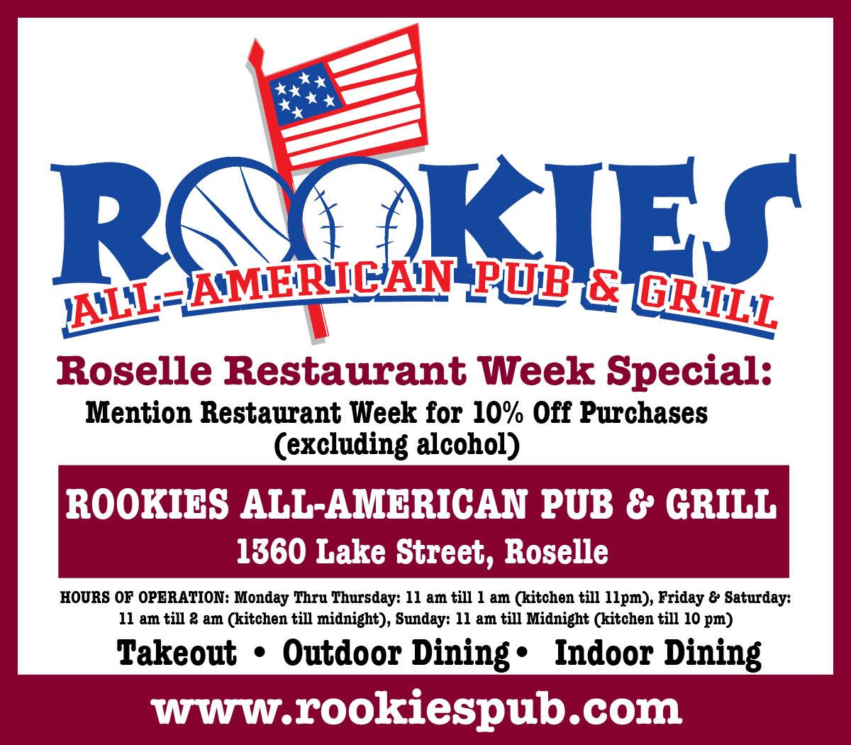 Rookies Opens in new window