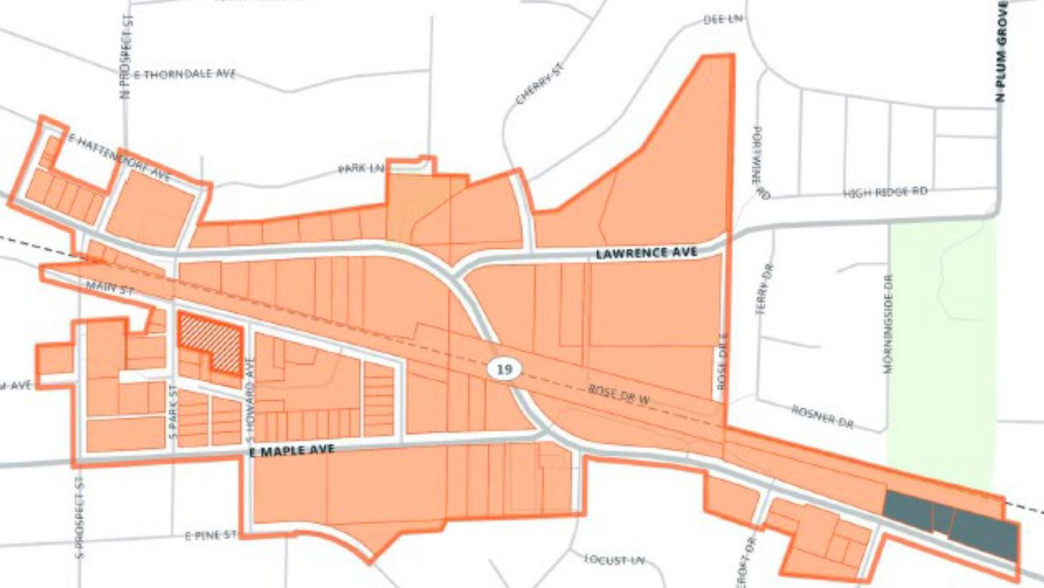 East Irving TIF Boundary